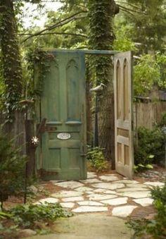 Fascinating Garden Gates and Fence Design Ideas 13 #gardengates