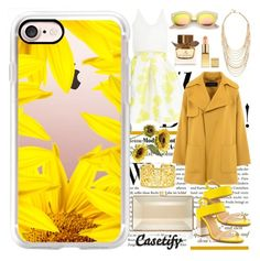 """""""Shine bright darling ☀️"""" by casetify ❤ liked on Polyvore featuring AX Paris, Barbara Bui, Pier 1 Imports, ALDO, Casetify, Ben-Amun, Judith Leiber, Eli and Burberry"""