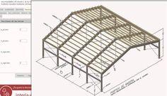 Tutorial para el cálculo de #porticos de #madera #online mediante la herramienta de  cálculo e-struc.com