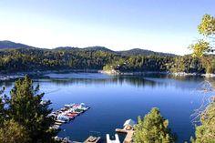Lake Arrowhead in the San Bernardino National Forest in California