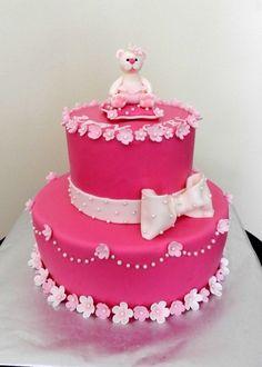 Baby Girl baby Shower By slun4ogledka on CakeCentral.com