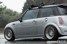 2004 Mini Cooper S on CCW wheels.