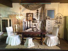 Shop display gypsy dining room