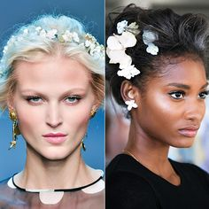 You Can Do: Flowers In Your Hair - Summer 2014 trend. The Basic Tips from #InStyle