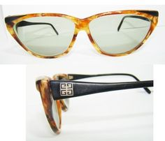 6b9816a7f4c9 BUY NOW EBAY Vtg Authentic Givenchy SG73 Sunglasses CATEYE glasses RARE 80s  womens SEXY 80s