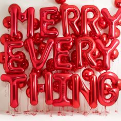 Madewell : Merry Christmas Type with balloons Noel Christmas, Merry Little Christmas, Christmas And New Year, All Things Christmas, Winter Christmas, Christmas 2019, Christmas Feeling, Christmas Sweets, Favorite Holiday