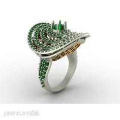 Diamond Fashion Ring, Modern style (Anniversary) [837-21665]