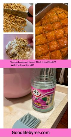 The easiest recipe for yummy baklava. You can!Get baking. #baklava #baklavarecipe #baking #recipes #homebaking #kitchenstuff #baklavaisbest #leivobaklavaa #herkkubaklava #baklavauunistaulos Baklava Recipe, Home Baking, Baking Recipes, Easy Meals, Told You So, Yummy Food, Eat, Cooking, Breakfast