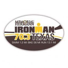 Emma-Kate Lidbury and Richie Cunningham win Ironman 70.3 Texas 2013. Richie Cunningham is competing at Muncie 2014, #3.