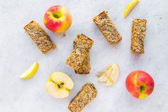Salted Caramel Apple Breakfast Bars (Vegan)