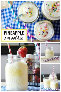 How to make a delicious pineapple smoothie that kids will love!