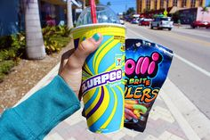 Slurpee and gummy worms are the best way to go :) Tumblr Quality, Tumblr Food, Slurpee, Dont Forget To Smile, Don't Forget, 7 Eleven, Snack Recipes, Snacks, Just Girly Things