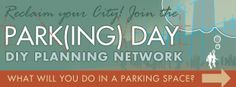 PARK(ing) Day is an annual worldwide event where artists, designers and citizens transform metered parking spots into temporary public parks.