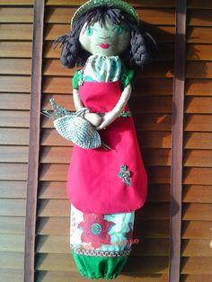 Arela Ourense: Muñeca guarda-bolsas