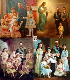 The Russian Imperial Royal family.