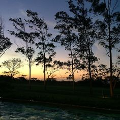 "@amvallarino's photo: ""Mi vista... #sunset #nofilter #buenaventuraresort #beachtime #gangstarinos"""