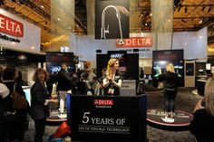 2013 KBIS in New Orleans  Booth demos by Delta