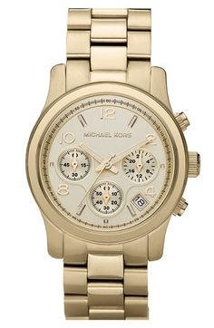 MICHAEL Michael Kors Michael Kors 'Runway' Chronograph Watch, 39mm available at #Nordstrom
