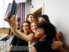 Caterina Scorsone, Camilla Luddington, Sarah Drew, Kelly McCreary, and Jerrika Hinton - Shondaland photo shoot -  Behind the scenes with Grey's Anatomy, Scandal, How to Get Away With Murder casts - EW.com
