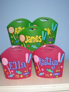 Sweet Treat Totes
