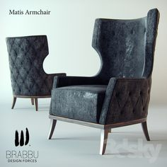 LUXURY BRANDS | Matis Armchair - Brabbu | www.bocadolobo.com #luxurybrands