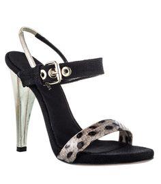 The Style Q & A: Seasonless Staples - Giambattista Valli Snow Leopard Sandal #ShopBAZAAR