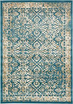 A2Z Rug Teal 7' x 10' FT St. Martin Collection Area rug -... https://smile.amazon.com/dp/B01N19K2GI/ref=cm_sw_r_pi_dp_x_qEv-yb1PJM2J6