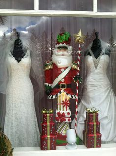 063dbd3a3b2f He is bringing lots of presents to all the good brides to be! Elizabeth  Ann's Bridal · Holden Windows