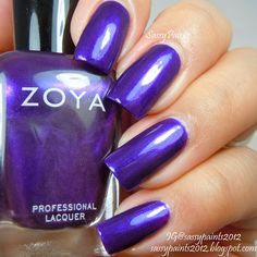 Sassy Paints: Zoya Belinda from the Zenith Winter-Holiday Collection