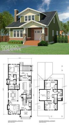 2051 sq. ft, 3 bedroom, 2 bath ::: minus top left bedroom make entire upstairs master suite, one bedroom downstairs