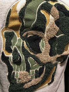 Designer Sportswear, Fabric Manipulation, Fashion Prints, Men's Fashion, Work Inspiration, Textiles, Embroidery Techniques, Apparel Design, Fashion Sketches