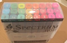 Spectrum Noir Alcohol Marker Review Alcohol Markers, Copic Markers, Alcohol Inks, Blending Markers, Coloring Tips, Adult Coloring, Pen & Paper, Spectrum Noir Markers, Art And Craft Materials