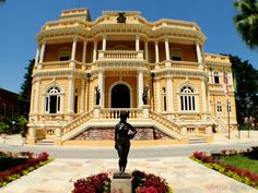 Manaus, Amazonas, Brasil - Palácio Rio Negro, Centro Cultural