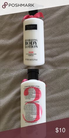 NWT Victoria's Secret hydrating body lotion-Rose NWT Victoria's Secret hydrating body lotion in Rose. Brand new, never even opened. PINK Victoria's Secret Makeup