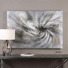 Uttermost Vortex Modern Abstract Art