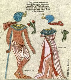 ANCIENT EGYPT TRANSFORMATIONS - (3 of 6) To transform Egyptian figures, click on image to see full-size image. Print each picture.  Then. cut out all pieces and place figures and cat on altar background. Lay various costume pieces over figures to transform them.