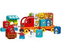 Moja pierwsza ciężarówka - 10818 | DUPLO® | LEGO Shop