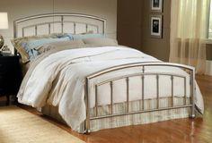 Hillsdale Furniture 1685BQR Claudia Bed Set with Rails, Queen, Matte Nickel  http://www.furnituressale.com/hillsdale-furniture-1685bqr-claudia-bed-set-with-rails-queen-matte-nickel/