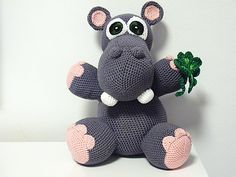 Pattern includes: - detailed instructions for crocheting