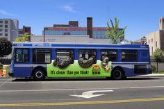 bus wrap - Google Search