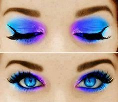 Reminds me of my old makeup days... Kinda love this