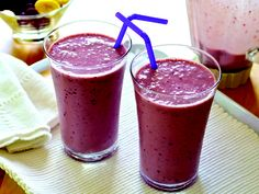 Grape Banana Smoothies