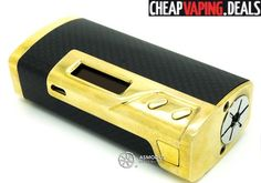 Check out this awesome price for an authentic Sigelei 213W TC Box Mod. Get it cheap.