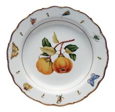 Quince Large Round Presentation Platter by Anna Weatherley.