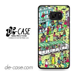 Where Is Wally DEAL-11883 Samsung Phonecase Cover For Samsung Galaxy Note 7