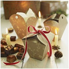 chocolate gifts for friends and family...