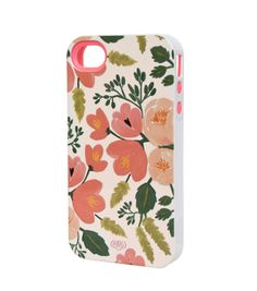 I love the color and style of the flora on this Rifle Paper co. iPhone case.