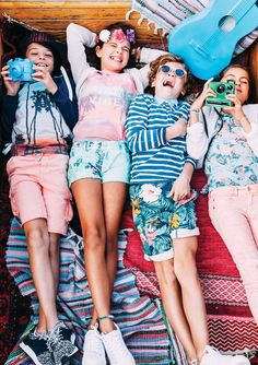 Spring Summer 2016 collection by Indian Blue Jeans Summer Kids, Spring Summer, Summer 2016, Kids Fashion Summer, Beach Fashion, Blue Jeans, Kids Christmas Outfits, Indian Blue, Tween Fashion