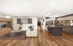 Chelsea UW Kitchen Living 01, New Home Designs - Metricon