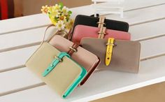 Luxury Fashion Flip PU Leather Pouch Wallet ID Card Stand Case Cover For